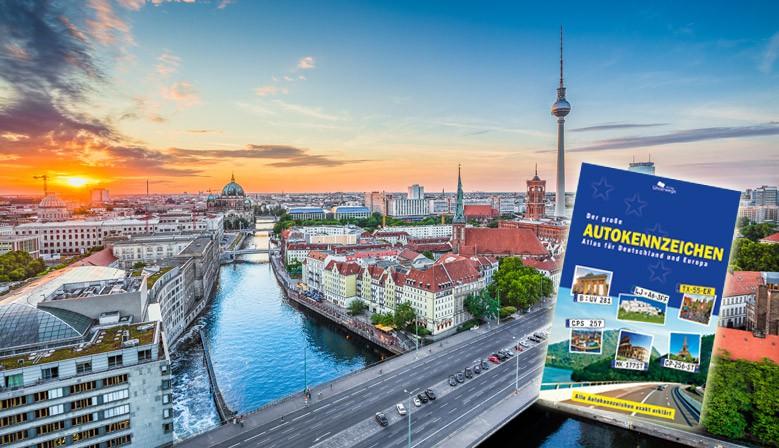 Der große Autokennzeichen Atlas für Deutschland und Europa